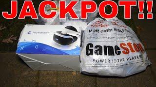 JACKPOT!!! Gamestop Dumpster Dive Night #356