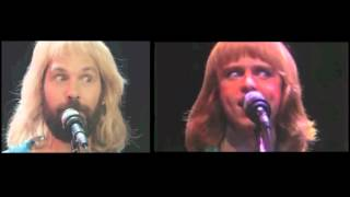 Jimmy Fallon / Styx Too Much Time split screen
