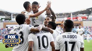 Panama's Edgar Yoel Barcenas scores in Gold Cup, does celebration for son's birthday | FOX SOCCER