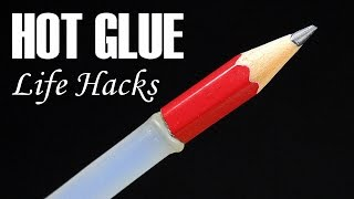 6 Awesome Glue Gun Life Hacks - Way to use Hot Glue Gun