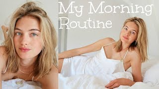 Model Summer Morning Routine   Skincare, Food, & My Diet   Sanne Vloet