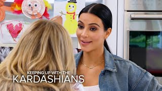 KUWTK | Kim K. Dishes on Caitlyn Jenner