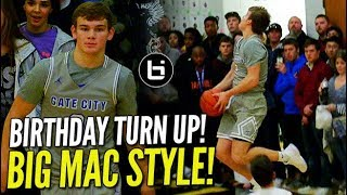 Mac McClung BIRTHDAY TURN UP in Front of SOLD OUT CROWD!