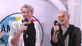 Grey Red Carpet Interview - AMAs 2018