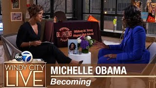 """Michelle Obama discusses her new book """"Becoming"""" - Part II"""