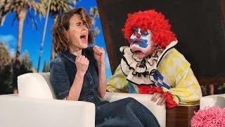 Ellen Ups Her Scare Game for