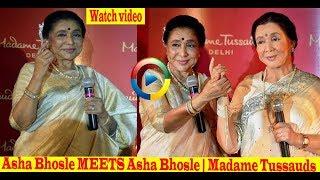Asha Bhosle MEETS Asha Bhosle | Madame Tussauds