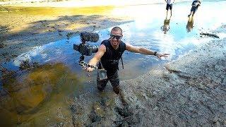 Treasure Hunting: Searching A Drained Lake!! (Deep Mud) | Jiggin