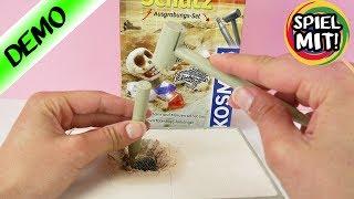 KOSMOS Piratenschatz ausgraben - Kathi als Archäologin | Wertvolle Goldmünze? Experimente für Kinder