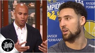 Reacting to Klay Thompson's reaction: Did he get snubbed for All-NBA?   The Jump