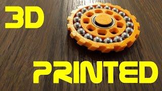 Double Bearing Fidget Spinner - 3D Printed