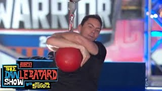 Dan Le Batard Show crew attempts American Ninja Warrior course | ESPN