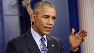 President Barack Obama holds final press conference of his presidency