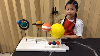 The Solar System 3D Model