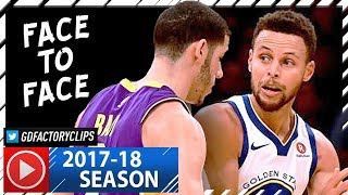 Lonzo Ball vs Stephen Curry First EVER Duel Highlights (2017.11.29) Warriors vs Lakers - INTENSE!