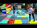GIANT BOARD GAME CHALLENGE!! Winner Gets...mp3