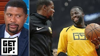 Jalen to Draymond: 'You have to give the ball to Kevin Durant'   Get Up!