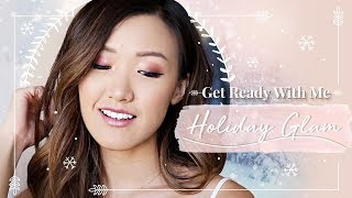 HOLIDAY GLAM | Get Ready with Me