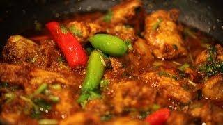 """ CHICKEN MASALA "" Bajias Cooking"