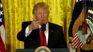 MUST WATCH: President Trump RIPS THE MEDIA Montage At Press Conference. Fully Takes On CNN (FNN)