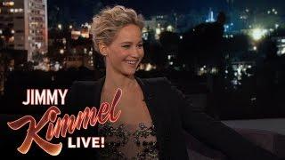 Jennifer Lawrence & Jimmy Kimmel are Hypochondriacs