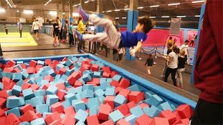 VB Junior fliegt im Trampolinpark | ViscaBarca