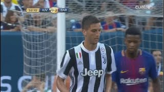Rodrigo Bentancur vs Barcelona ► Debut Juventus ► Amistoso/Friendly 22/07/2017