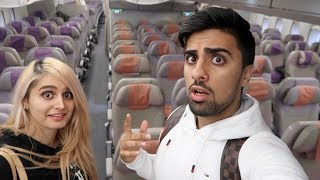 WE BOUGHT ALL THE PLANE SEATS !!!