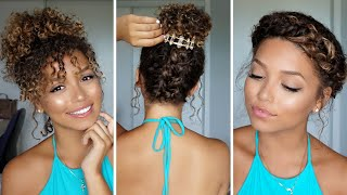 3 Summer Hairstyles for Curly Hair | Ashley Bloomfield