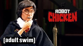 Classic Hogwarts Moments | Robot Chicken | Adult Swim