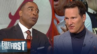Danny Kanell: Gap between Clemson and Alabama is closer than you think   CFB   FIRST THINGS FIRST