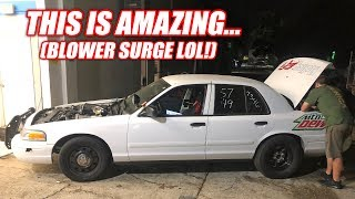 Chevy Guys Try Swapping Cams on a GT500... SOUNDS SO GOOD! (GT500 Swapped Cop Car)