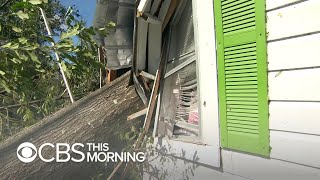 Floridians return to their homes destroyed by Hurricane Michael