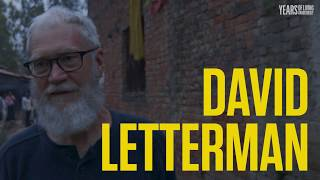 David Letterman Goes to the Bank