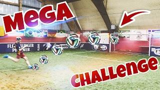 MEGA FUßBALL CHALLENGE !! / + BESTRAFUNG | Marlon