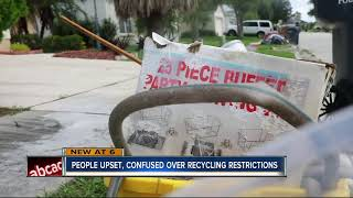 "Polk Waste and Recycling says ""no"" to many items with new recycling process"