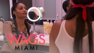 WAGS Miami | Ashley Wheeler Keeps Her Positive Pregnancy Test Where?! | E!