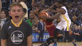 Warriors Defeat Cavs by 35! This Is a Rivalry! Durant Blocks LeBron