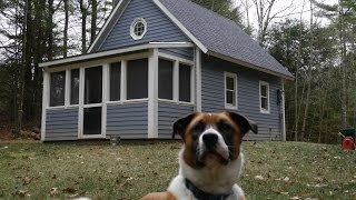 Fully LEGAL 252 Sq. Foot Tiny House in Massachusetts (Cabin-Small Home)