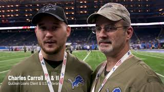 NFL Salute to Service   Quicken Loans and the Detroit Lions