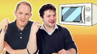 Professional Chefs Try Microwaved Dinners (Food Taste Test)