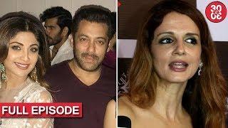 Salman, Sohail, Karisma Attend Arpita's Diwali Party   Sussanne On Kangana-Hrithik Controversy