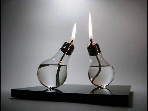 Как сделать светильник на батарейках своими руками