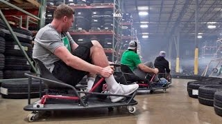 Stunt Driving Battle | Dude Perfect