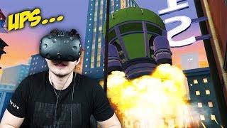 WENN DIE RAKETE STARTET, STERBEN ALLE !!! | I Expect You To Die (Virtual Reality )