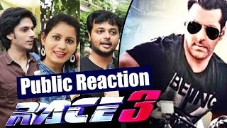 Salman Khan In RACE 3 | Public Super Excited - Public Reaction