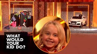 Kid Picks Between A Family Cruise... Or A Toy Car | What Would Your Kid Do?