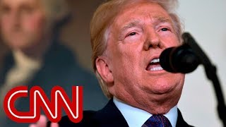 Trump: US, France and UK launch strikes on Syria