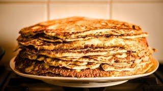 Condensed milk pancakes / Boris special blins (20K subs special)
