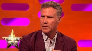 Will Ferrell Sang 'I Will Always Love You' At His Graduation Ceremony  - The Graham Norton Show